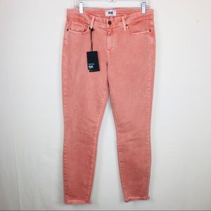 PAIGE | Verdugo Ankle Mid Rise Ultra Skinny Jeans